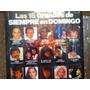 Disco Acetato De: Las 15 Grandes De Siempre En Domingo