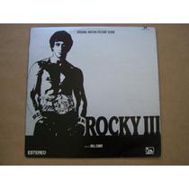Se Vende Disco De Acetato De La Pelicula Rocky 3