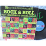 Disco Lp De Vinil Ocetato 33 Rpm 15 Exitos Rock And Roll