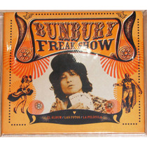 Bunbury Cd+dvd Digipack Freak Show - Heroes Del Silencio