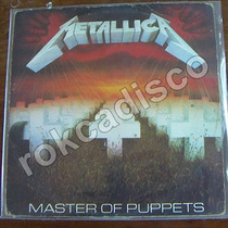 Heavy Metal, Metallica Master Of Puppets Lp 12´, Hecho. Usa.