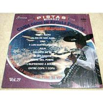Disco Lp Pistas De Canciones - Tipo Karaoke - Con Mariachi -