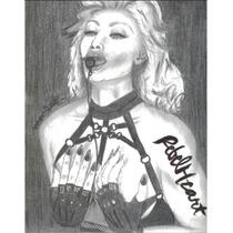 Madonna- Rebel Heart/dibujo Hecho A Mano/unico