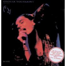 Cecilia Toussaint Noche De Dia En Vivo Cassette + Cd Regalo