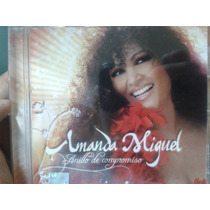 Cd Amanda Miguel Anillo De Compromiso 100% Sellado Y Nuevo