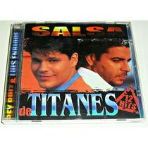 Cd Rey Ruiz Y Luis Enrique / 1a Ed Sony Music 1999 / 12 Hits