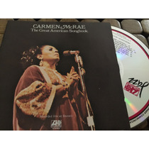 Cd. Carmen Mcrae - The Great American Songbook - Importado