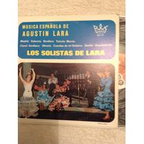 Lp Musica Española De Agustin Lara