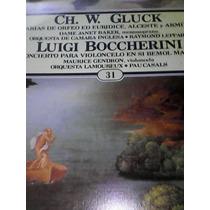 Disco De Acetato Luigi Boccherini