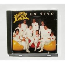 Grupo Latino En Vivo Cd Primera Edicion Original 1988