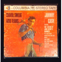 Johhny Cash - Blod Sweat And Tears 4 Track Con Caja Rock