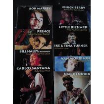 Box Set Bob Marley, Jimi Hendrix, Prince, Carlos Santana,