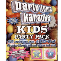 Party Tyme Karaoke - Kids Party Pack - 32 Canciones