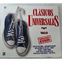 Album Classicos Universales De 3 Cd De Musica De Los Años70s