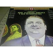 Disco De Acetato De Jose Alfredo Jiménez Y Sus Interpretes