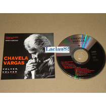 Chavela Vargas Volver Volver 1994 Wea Cd