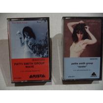 Patti Smith Group 2 Cassettes Tapes Importados De Coleccion