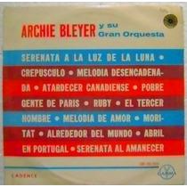 Archie Bleyer Y Su Gran Orquesta 1 Disco Lp Vinilo