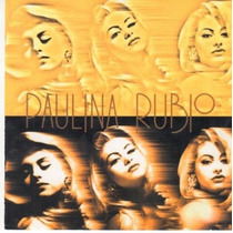 Paulina Rubio La Chica Dorada Cd Album (mio) Pop Mix Dj 90´s