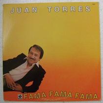 Juan Torres / Organo Melodico Fama 1 Disco Lp Vinilo