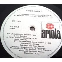 Rocio Durcal Canta A Juan Gabriel Vol. 3, Lp Seminuevo
