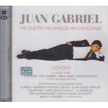 Juan Gabriel / Mis Duetos Mis Amigos Mis Canciones / Cd Dvd