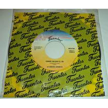 Ep 7 Disco De 45 Rpm Sonora Dinamita / Seminuevo