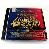 Banda Machos / 16 Reales Hits Cd Nuevo Raro 1a Ed 1994