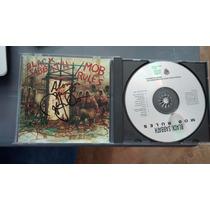 Cd Black Sabbath, Dio Autografiado Mob Leer Características