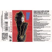 Janet Jackson: Control. Cassette Usado 1ra Ed 1986. Usa