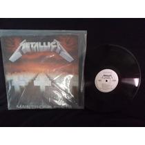 Disco De Acetato Metallica Master Of Puppets