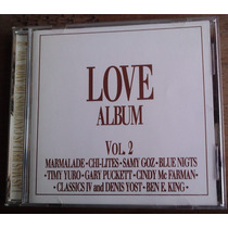 Love Album Vol 2 Las + Bellas Canciones De Amor Cd Raro 1996