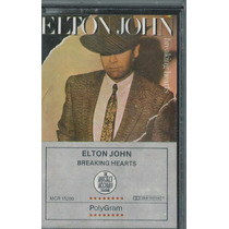 Cassette Breaking Hearts / Elton John 1984
