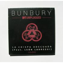 Bunbury La Chispa Adecuada Cd + Dvd Sencillo Nuevo Y Sellado