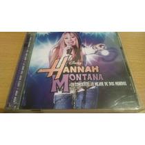 Hannah Montana, Miley Cyrus, Lo Mejor Cd Album Doble De 2008