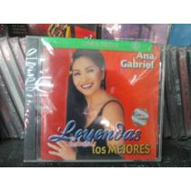 Ana Gabriel - Leyendas Solamente Exitos Cd Nuevo ---