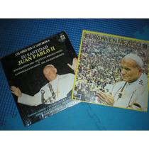 Papa Juan Pablo Ii El Papa En México Y Su Santidad 2 Lp #