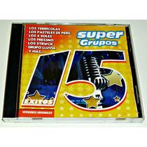 Cd 15 Supergrupos Terricolas Pasteles Strwk Lluvia Angeles N