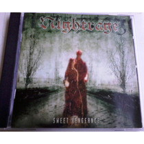 Nightrage - Sweet Vengeance Cd 1era Ed. At The Gates