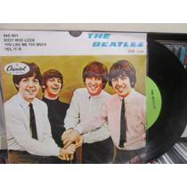 The Beatles Disco Ep Nuevo 10004 4 Temas