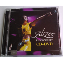 Alizee En Concert Ed Especial De 1 Cd Y 1 Dvd Unica Ed 2004