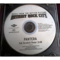 Pantera - Cat Scratch Fever Cd Detroit Rock City Kiss