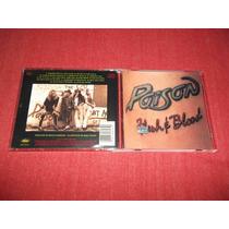 Poison - Flesh And Blood Cd Imp Ed 1990 Mdisk