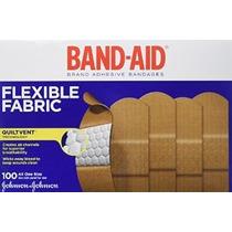Band-aid De Johnson & Johnson Tirita De Tela Flexible Cajas
