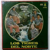 Tigres Del Norte Lp Triple Norteño Carlos Y Jose Ramon Ayala