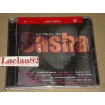 Sasha Lo Mejor 2002 Sony Cd Nuevo Cerrado