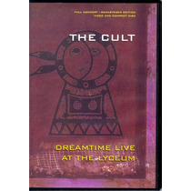 Cd Original Vhs The Cult Dreamtime Live At The Lyceum 1984