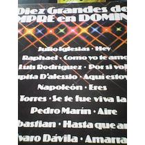 Disco De Acetato Diez Grandes De Siempre El Domingo