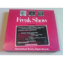 Freak Show The Real Gigolo History Cd + Dvd Nuevo Cerrado Na
