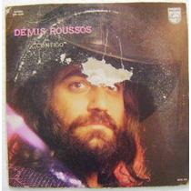 Demis Roussos / Contigo 1 Disco Lp Vinil